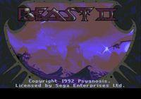 Video Game: Shadow of the Beast II