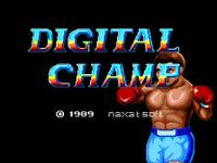 Video Game: Digital Champ Battle Boxing