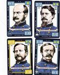 Union Commanders, Alfred Pleasonton, Daniel Sickles, Winfield Scott Hancock and Von Steinwehr.