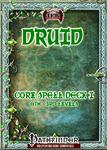 RPG Item: Druid Core Spell Deck I (0th: 3rd)