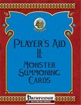 RPG Item: Player's Aid II: Monster Summoning Cards