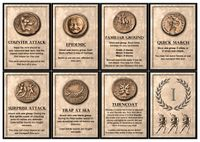 Re-themed Event/Command cards.