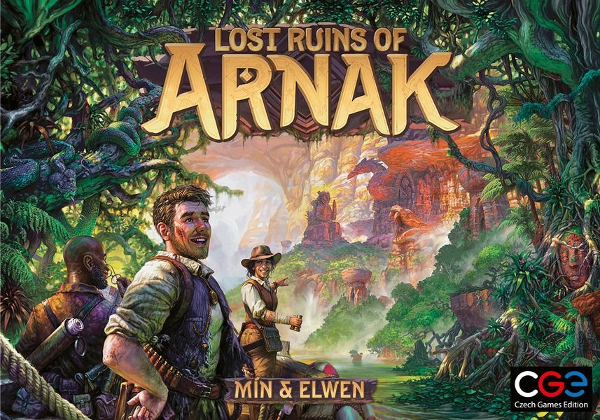 One of our heroes healed some of their nasty wounds and the whole scenery got prettier. We present you the final box for the Lost Ruins of Arnak!
