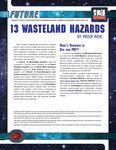 RPG Item: 13 Wasteland Hazards
