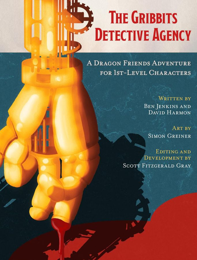 Cover of The Gribbits Detective Agency