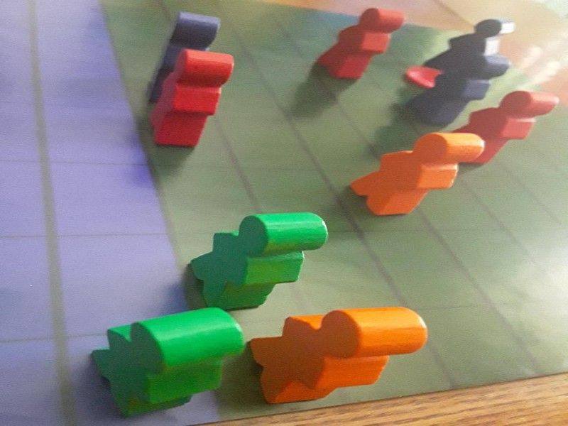 Ultimate Frisbee: The Board Game