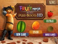 Video Game: Fruit Ninja: Puss in Boots