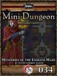 RPG Item: Mini-Dungeon Collection 034: Mysteries of the Endless Maze (5E)