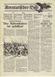 Issue: Aventurischer Bote (Issue 40 - 1992)