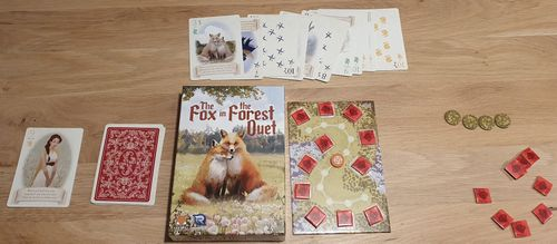 Board Game: The Fox in the Forest Duet
