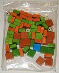 Bag with blocks & dice
