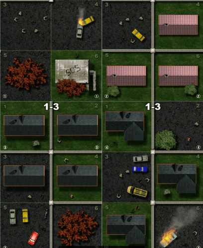 Board Game: Zombies in our neighborhood