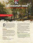 RPG Item: The Overgrown Shrine