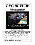 Issue: RPG Review (Issue 31 - Jun 2016)