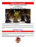 RPG Item: Nullifiers Demands!