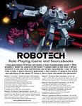 RPG: Robotech: The Shadow Chronicles