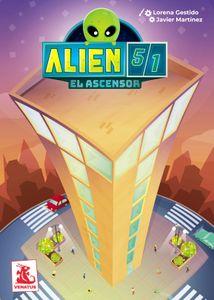 Alien 51: El ascensor Cover Artwork