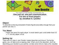 Board Game: Jam Doodle
