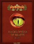RPG Item: Hacklopedia of Beasts Vol. II (HackMaster 5th Edition)