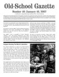 Issue: Old-School Gazette (Issue 10 - Jan 2007)