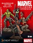 Board Game: Marvel Universe Miniature Game: Guardians of the Galaxy Starter Set