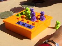 Board Game: Dino Dodg-Em