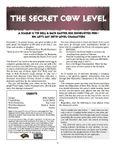 RPG Item: The Secret Cow Level