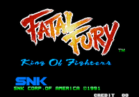 Video Game: Fatal Fury: King of Fighters