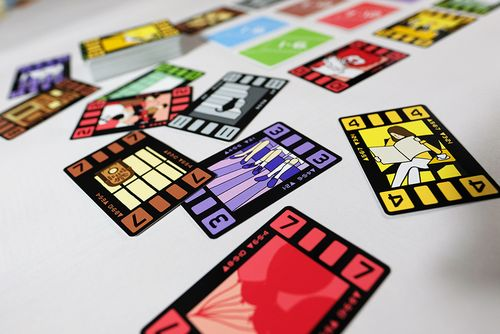 Board Game: Wind the Film!