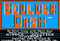 Video Game: Boulder Dash