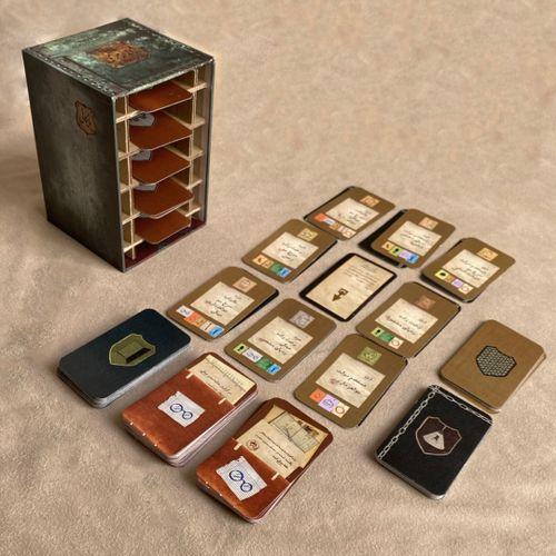 Board Game: ژاندارمری (Gendarmery)