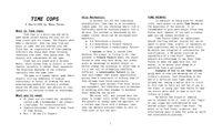 RPG Item: Time Cops
