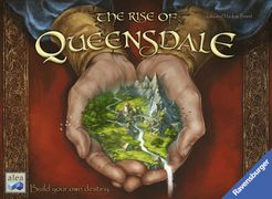 The Rise of Queensdale Cover Artwork
