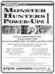 RPG Item: GURPS Monster Hunters Power-Ups 1