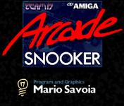 Video Game: Arcade Snooker