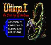 Video Game: Ultima I: The First Age of Darkness