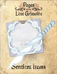 RPG Item: Pages from the Lost Grimoire: Sentient Items / Asleep in Snow