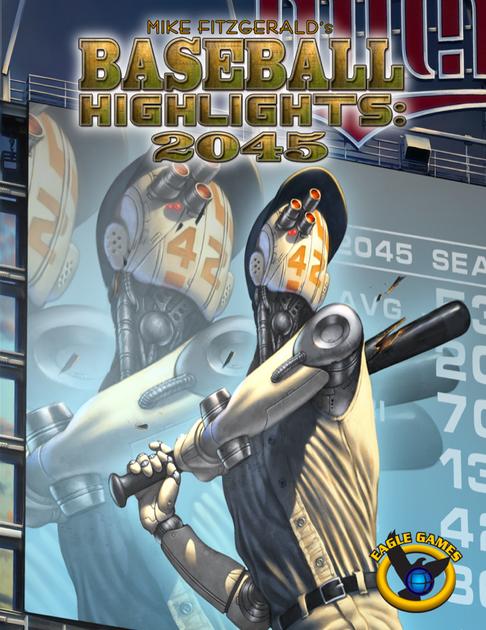 Baseball Highlights 2045 Game Ryan Funkhouser Kickstarter Promo Paradise Card