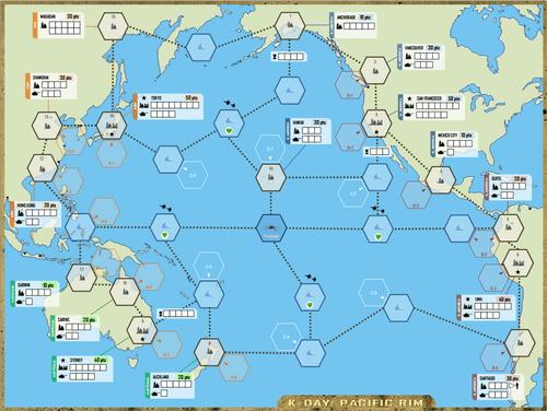 Board Game: K-Day: Kaiju War!