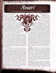 RPG Item: Bloodline: Anvari