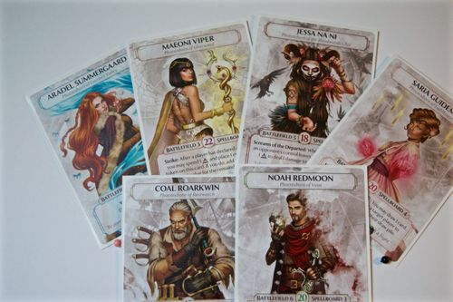 Board Game: Ashes Reborn: Rise of the Phoenixborn