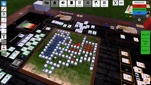 TableTop Simulator Playtesting