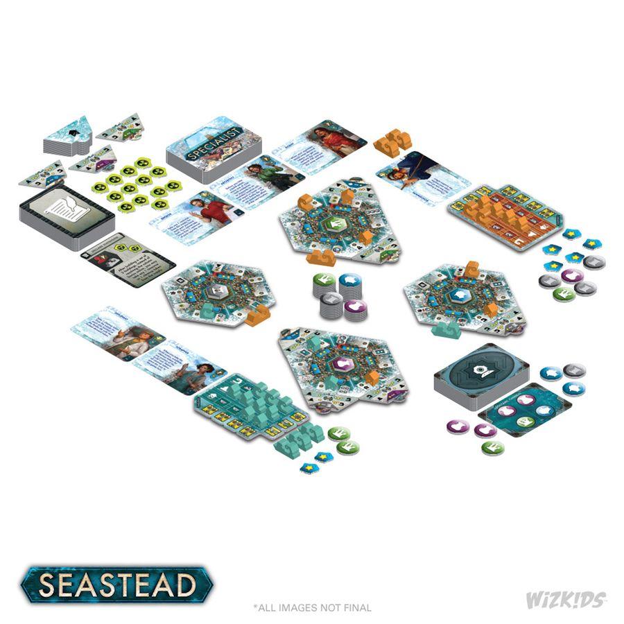 Seastead Maldito - despliegue en mesa