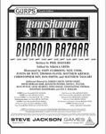 RPG Item: Bioroid Bazaar