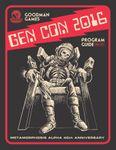 RPG Item: Goodman Games Gen Con 2016 Program Guide