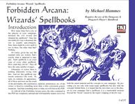 RPG Item: Wizards' Spellbooks