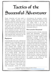 RPG Item: Tactics of the  Successful Adventurer