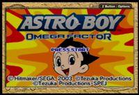 Video Game: Astro Boy: Omega Factor