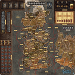 Board Game Accessory: A Game of Thrones: The Board Game (Second Edition) – Mother of Dragons Deluxe Gamemat