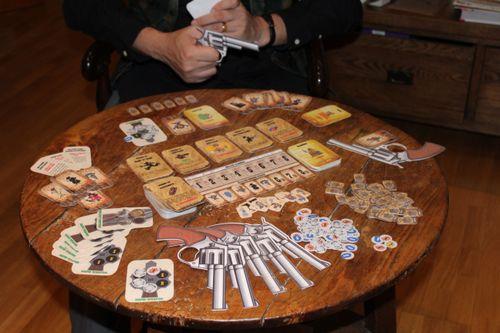 Board Game: Stetsons & Sixguns